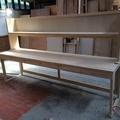 長崎市鶴の尾団地O様邸洋室の手作り洋裁専用テーブル工事