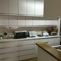 矢上団地N邸キッチンリフォーム手作り収納カップボード製作